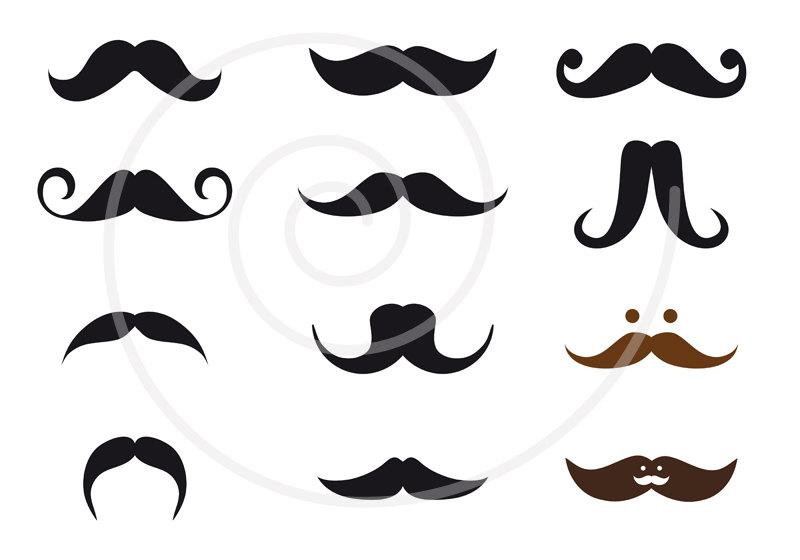 Mustache designs clipart jpg stock Mustache Styles Clipart #1 | Clipart Panda - Free Clipart Images jpg stock