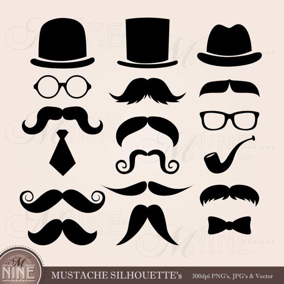 Mustache designs clipart clip library download MUSTACHE Clip Art: Mustaches Clipart, Mustaches Download ... clip library download