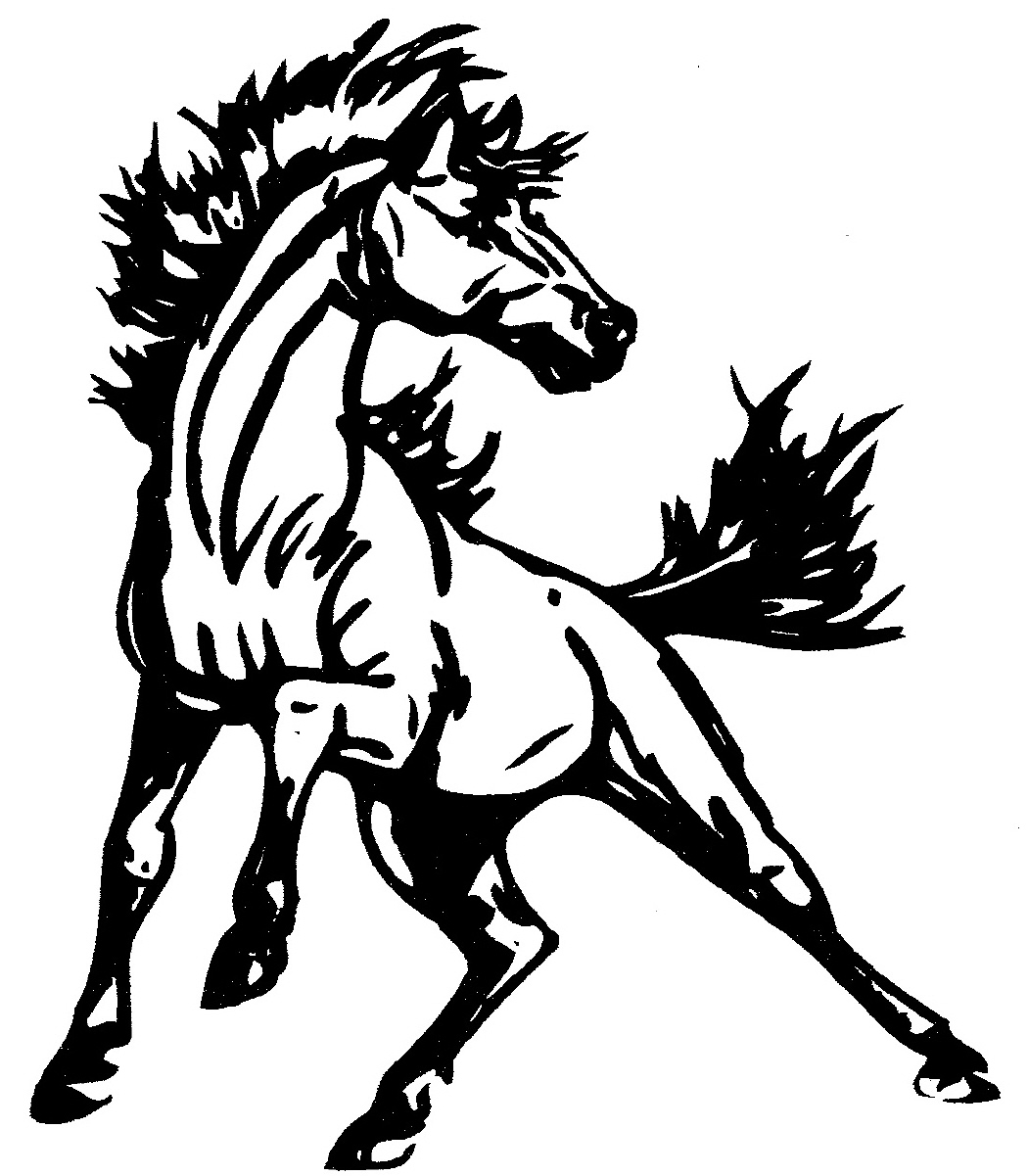 Mustangs horse clipart png freeuse library Free Mustang Logo Cliparts, Download Free Clip Art, Free Clip Art on ... png freeuse library