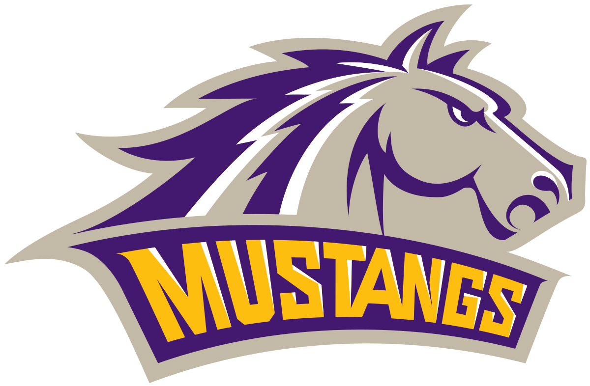 Purple and gold basketball clipart clip transparent stock Western New Mexico Mustangs - Wikipedia clip transparent stock