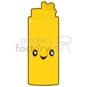 Mustard clipart clip Mustard cartoon character vector image clipart. Royalty-free clipart #  394880 clip