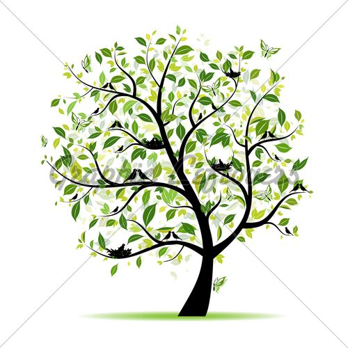 Mustard tree clipart banner royalty free stock It starts as a mustard seed and grows into a tree where the ... banner royalty free stock