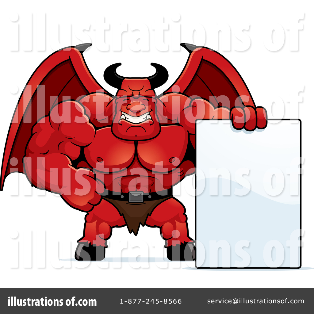 Musti clipart picture transparent library Demon Clipart #1435209 - Illustration by Cory Thoman picture transparent library