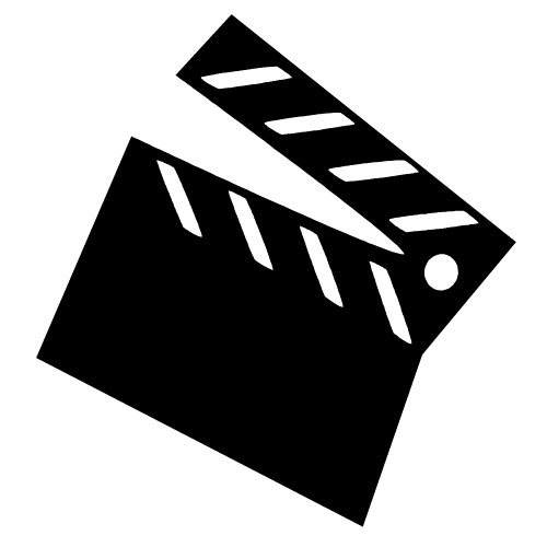 Mvie clipart banner stock Movie-clipart-black-and-white | Mentor Public Library banner stock