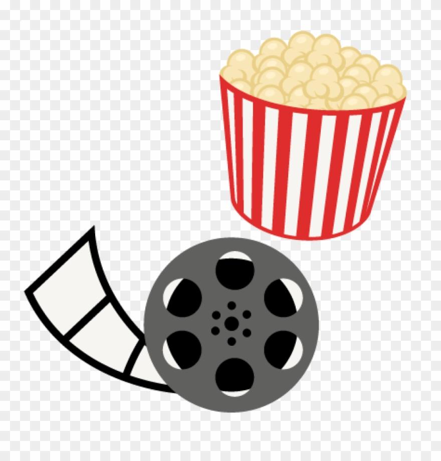 Mvie clipart graphic black and white download Free Clipart Popcorn Popcorn Movie Reel Movie Night ... graphic black and white download