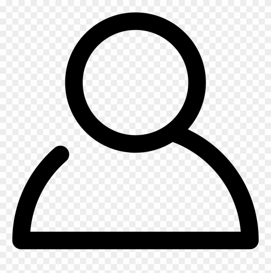 My account clipart clipart freeuse stock My Account - User Outline Icon Clipart (#1135480) - PinClipart clipart freeuse stock