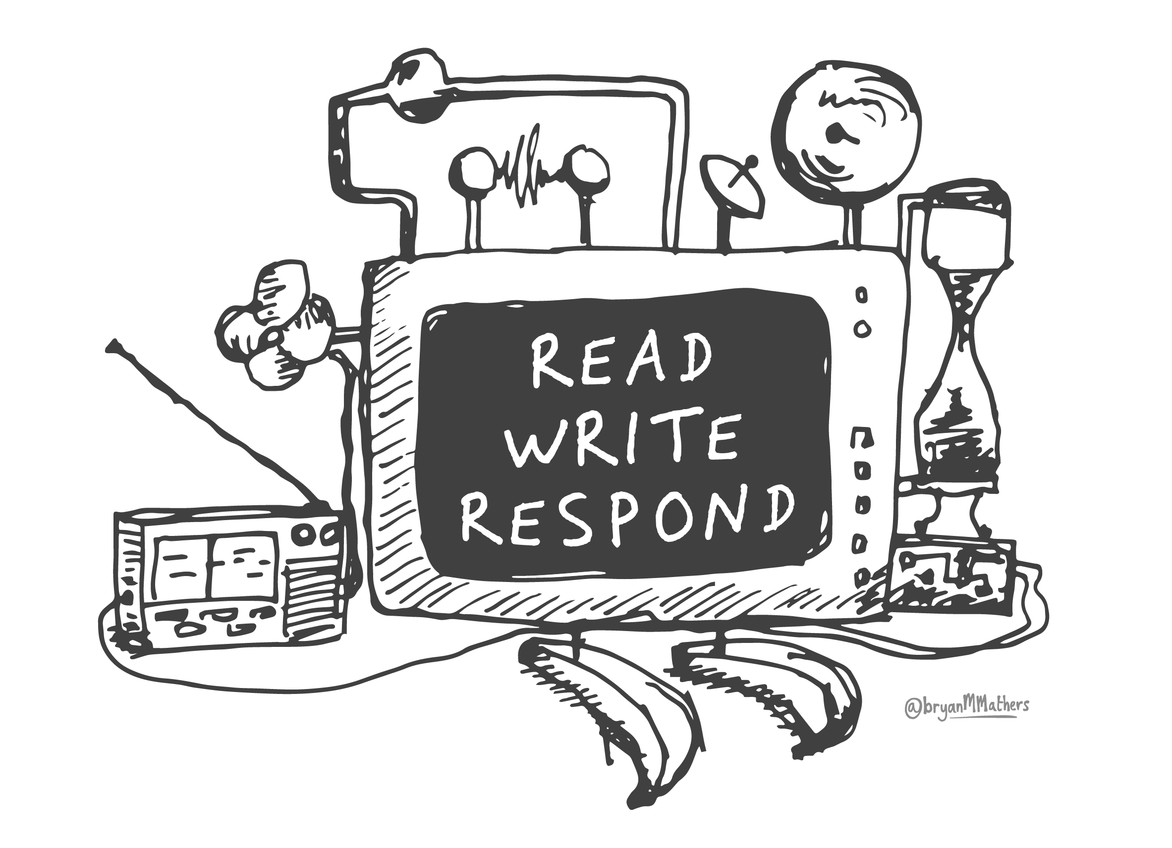 My book report clipart clip art freeuse stock Read Write Review - Voices from the Village in 2017 - Read Write Respond clip art freeuse stock