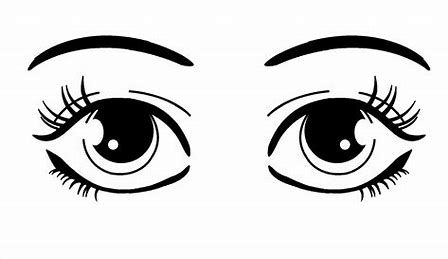 My eyes clipart image black and white library Image result for How to Draw Cute Eyes | Drawing Sketching ... image black and white library