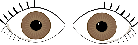 My eyes clipart clip royalty free library Brown Eyes | Body ร่างกาย | Eyes clipart, Eye images, Clip art clip royalty free library