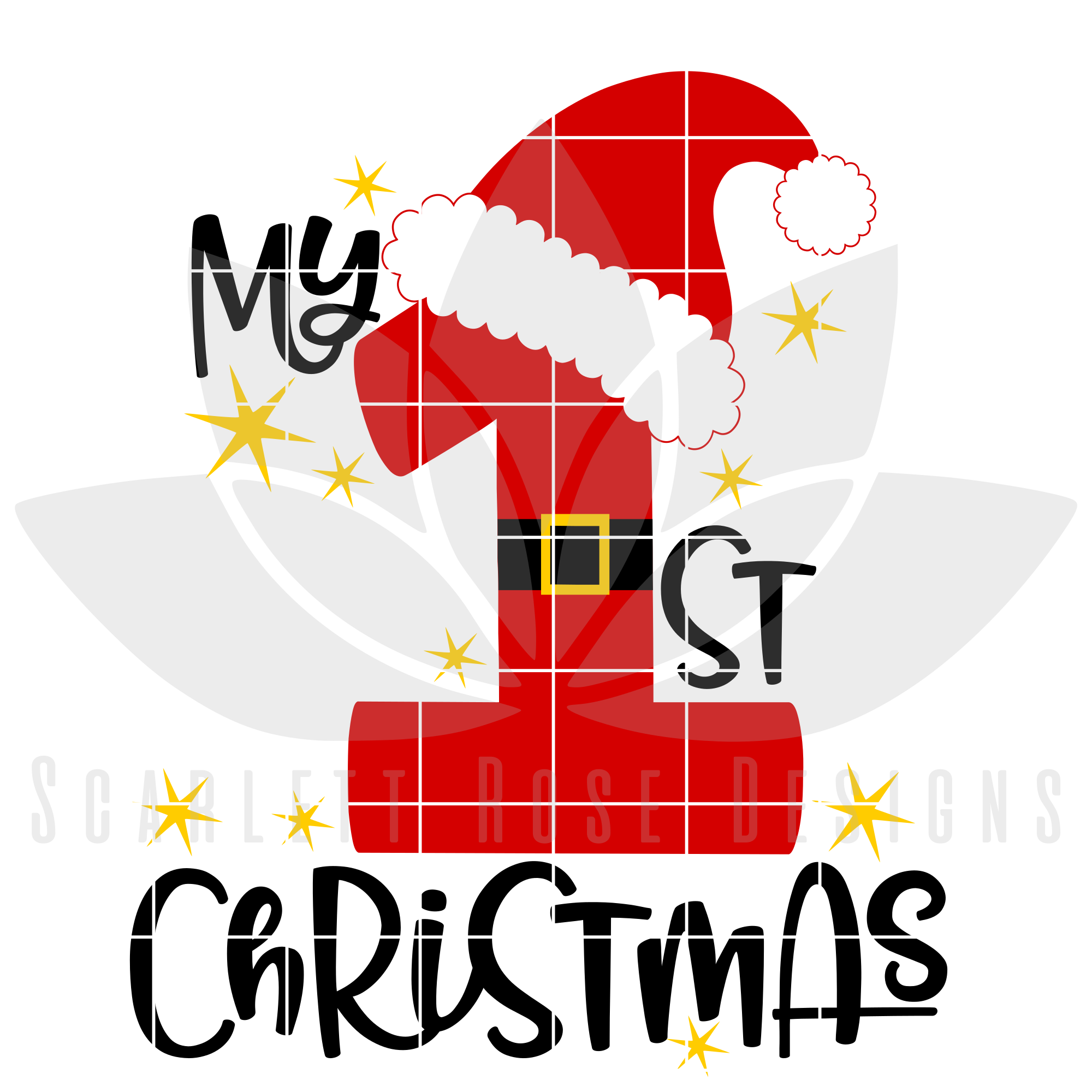 My first christmas clipart clip transparent My 1st Christmas SVG clip transparent