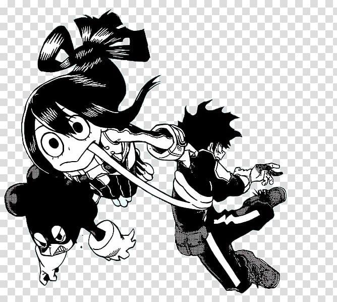 My hero academia black & white clipart png free Minoru Mineta My Hero Academia Jean Kirschtein All Might, My Hero ... png free