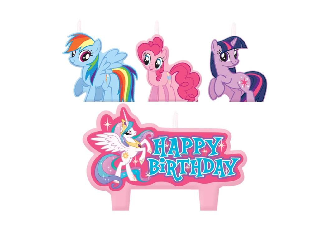 My litte pony happy birthday words clipart graphic transparent download My Little Pony Party Supplies | Sweet Pea Parties graphic transparent download