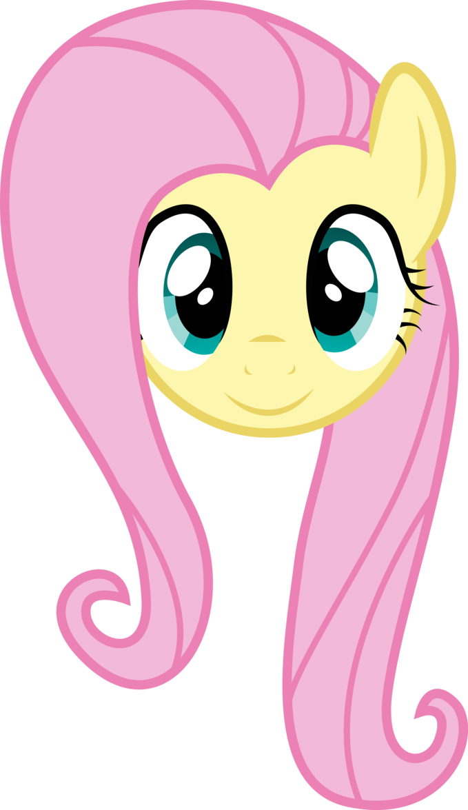 My little pony fluttershy big face clipart svg transparent library Fluttershy Face by PaulySentry | My little pony birthday in 2019 ... svg transparent library