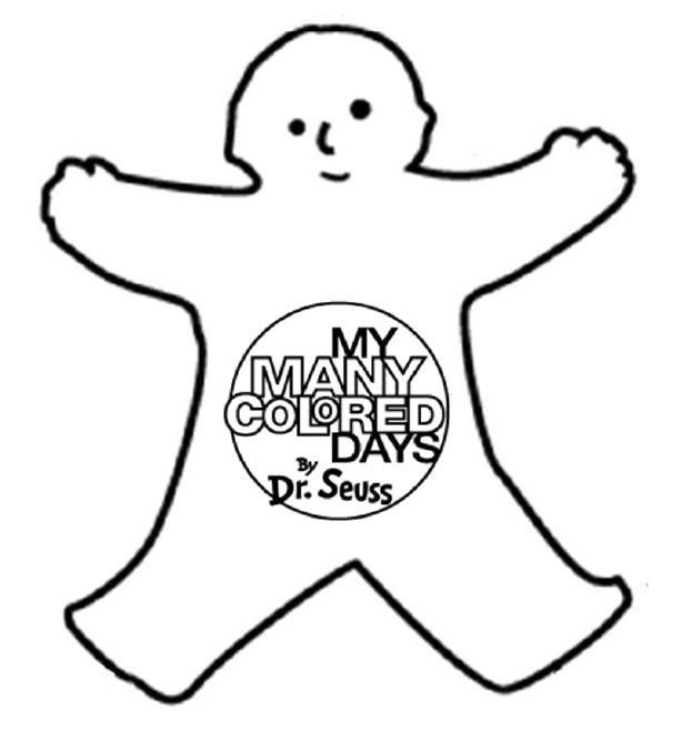My Many Colored Days - kid color cutouts template | School ideas ... svg library download
