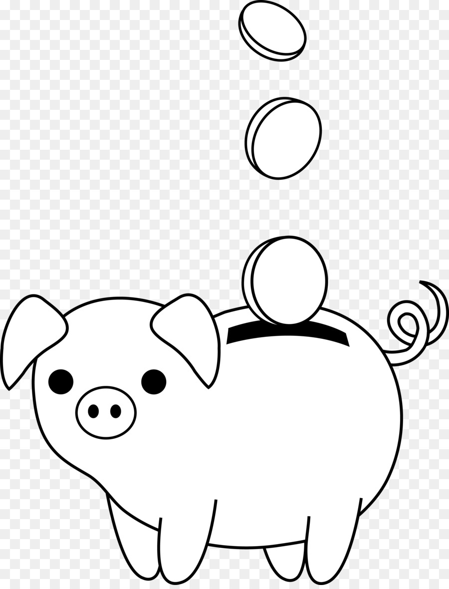My piggy bank clipart black and white clip art library Piggy Bank Clipart Black And White (102+ images in Collection) Page 1 clip art library