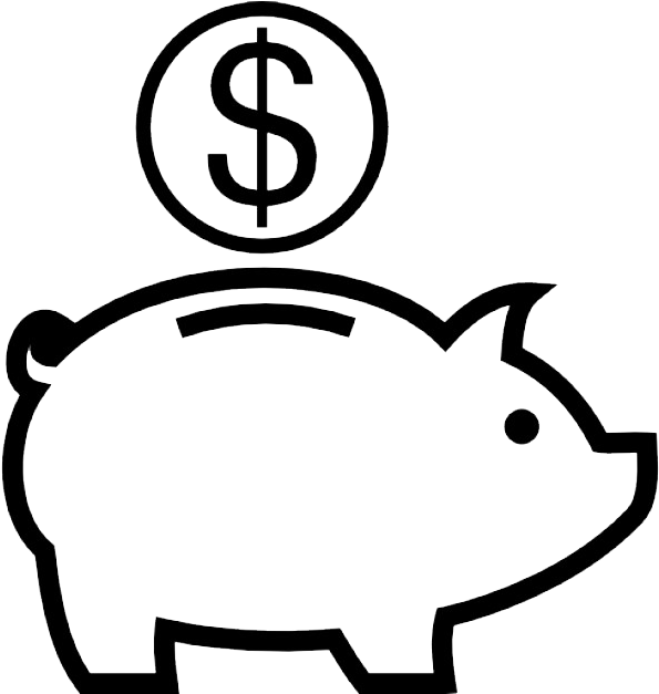 My piggy bank clipart black and white clip art freeuse library Piggy Bank Drawing | Free download best Piggy Bank Drawing on ... clip art freeuse library