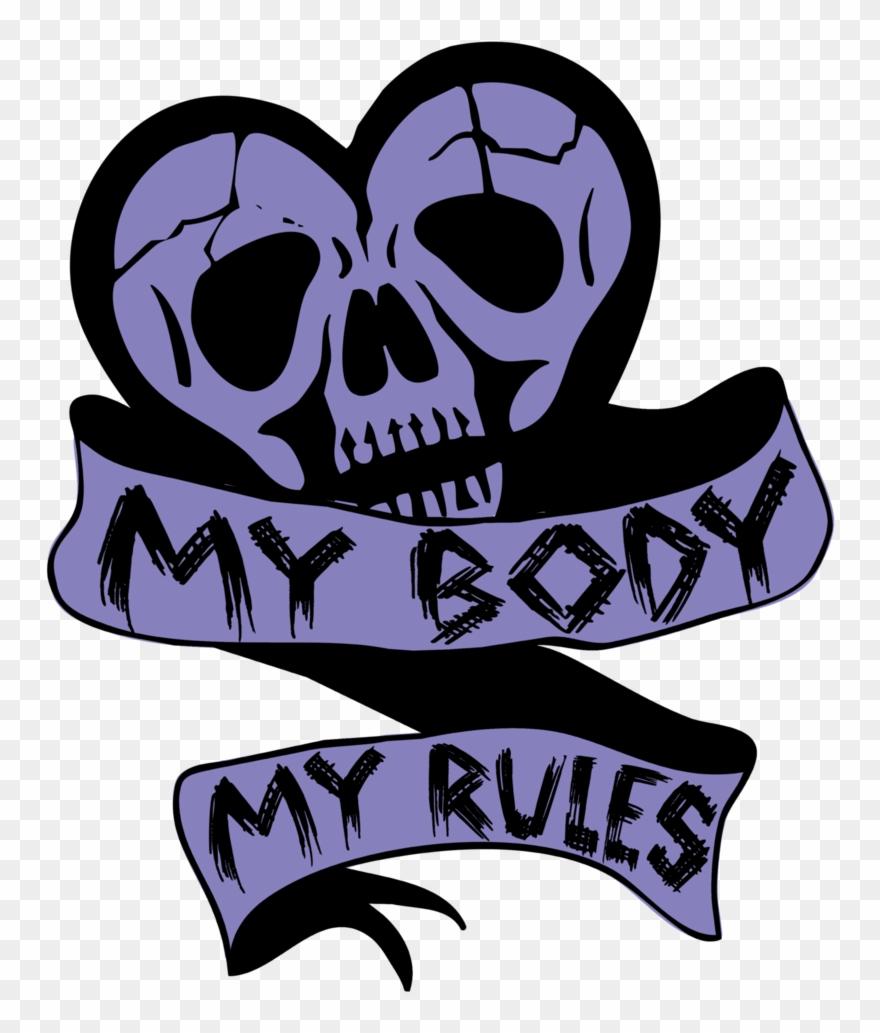 My rules clipart jpg freeuse stock My Body, My Rules Women\'s Crop Top [black] - Art Print: Pop Ink ... jpg freeuse stock