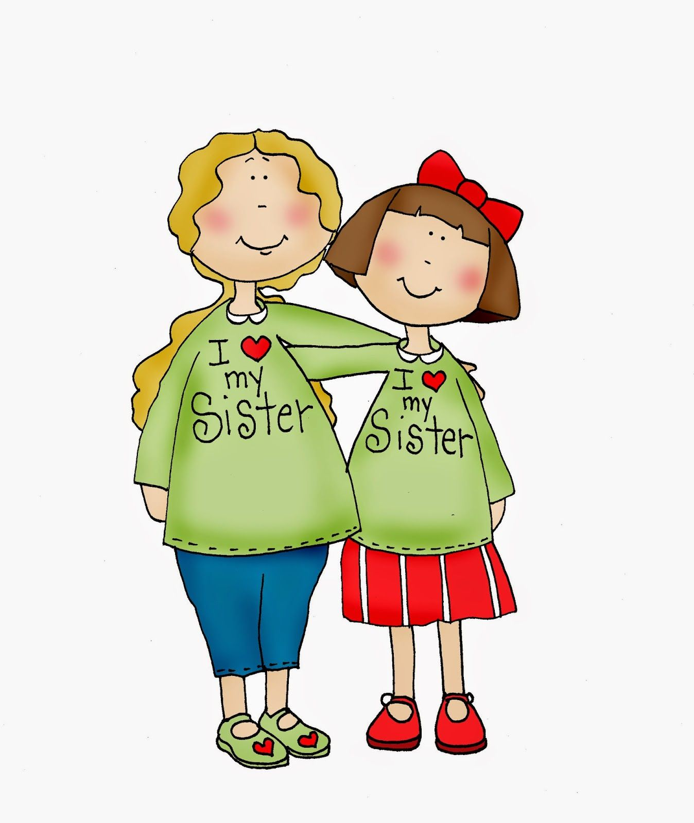 My sister clipart