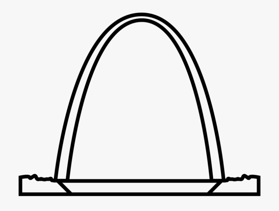 My Icon Story - Transparent St Louis Arch Icon #1591198 ... image library library