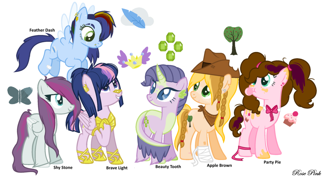 My weird school clipart svg black and white library MLP My Next Generation OCs by RosePinkArts on DeviantArt svg black and white library
