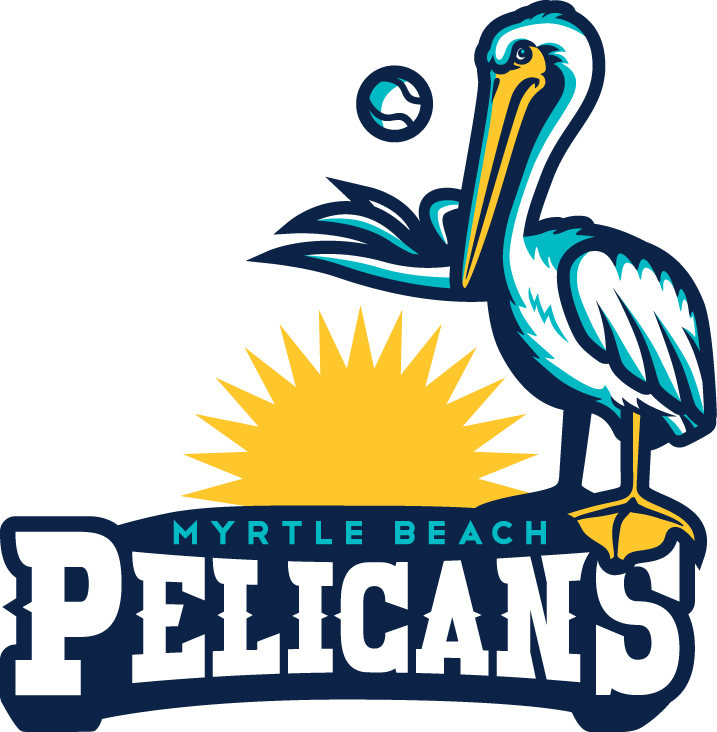 Myrtle beach pelicans clipart picture freeuse library UPDATE ? Myrtle Beach Pelicans Logo Redesign - Concepts - Chris ... picture freeuse library