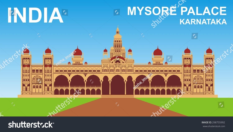 Mysore palace clipart