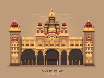 Mysore palace clipart jpg download ranganath krishnamani / Tags / mysore | Dribbble jpg download