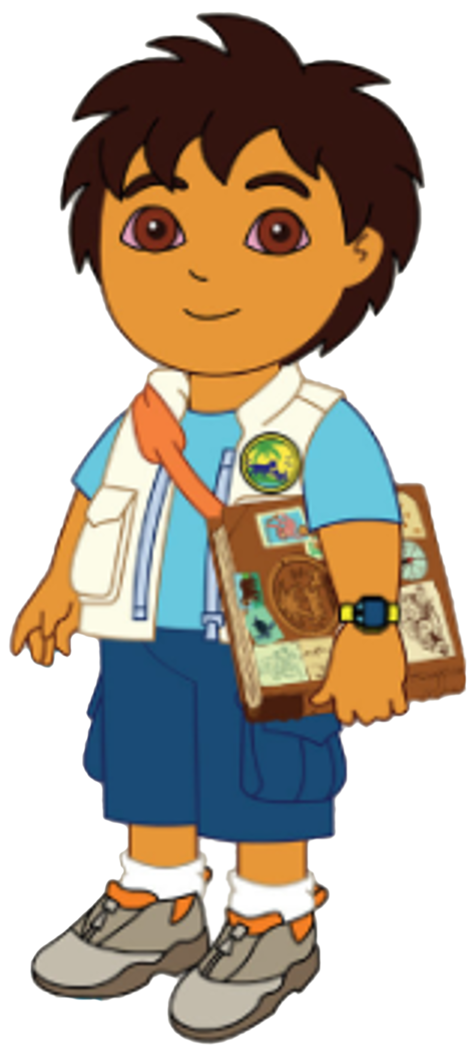 Mysterious book clipart clipart freeuse download Image - Diego poses with book.png | Dora the Explorer Wiki | FANDOM ... clipart freeuse download