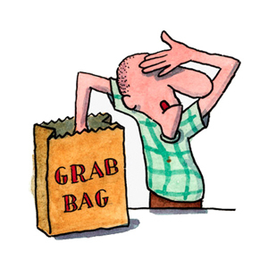 Mystery bag clipart clipart library stock Surprise Fingerboard Grab Bag - $50 clipart library stock