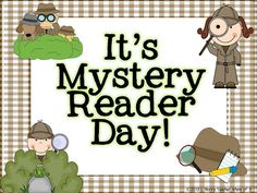 Mystery reader clipart picture black and white stock 16 Best Mystery readers images in 2015 | Classroom setup, Classroom ... picture black and white stock
