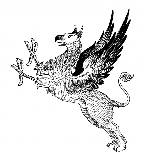 Griffin Mythical Creature Clipart Free Stock Photo - Public Domain ... picture black and white stock