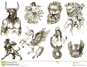 Mythological Creatures Clipart | Free Images at Clker.com - vector ... banner free