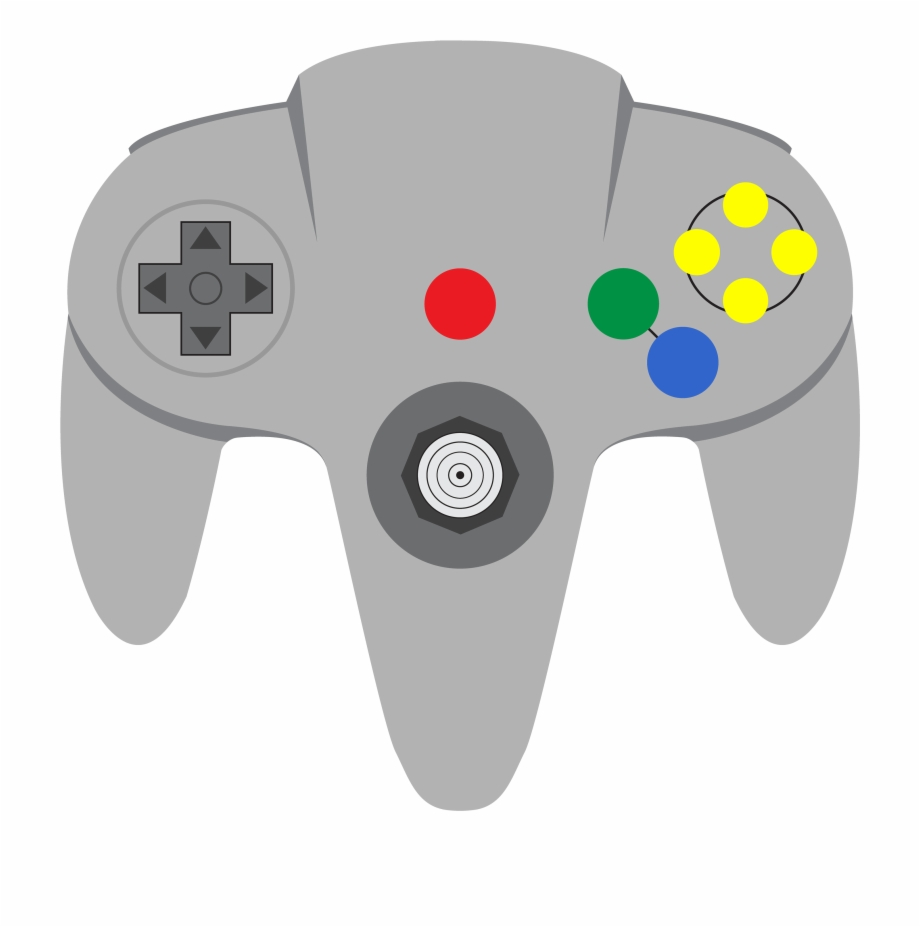 Nintendo 64 clipart image library download Nintendo 64 Controller Png Graphic Freeuse Library - Nintendo 64 ... image library download