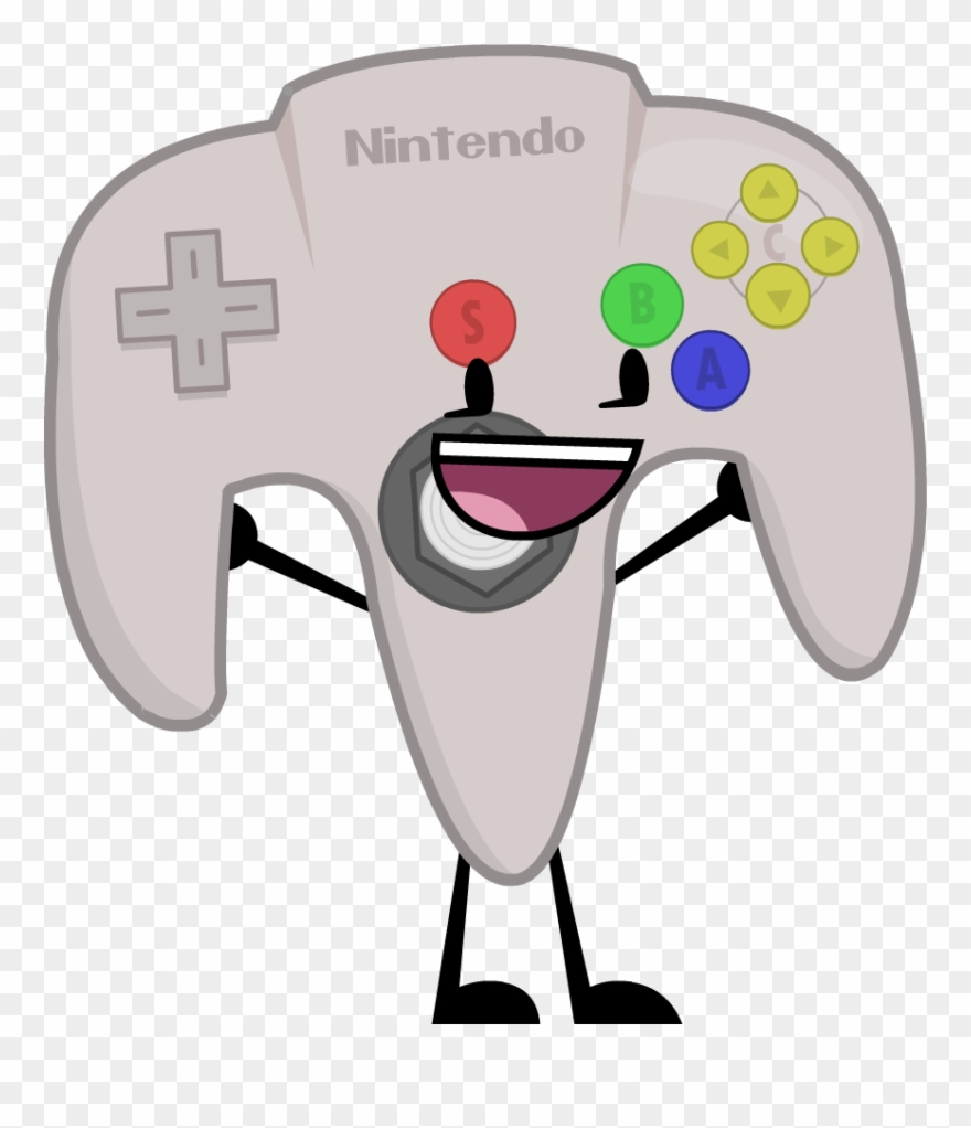 N64 clipart picture free Controller Clipart N64 Controller - Nintendo - Png Download ... picture free