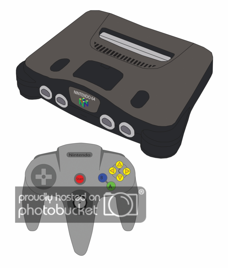 Nintendo 64 clipart picture download Nintendo 64 Png - Nintendo 64 Cartoon Controller Free PNG Images ... picture download