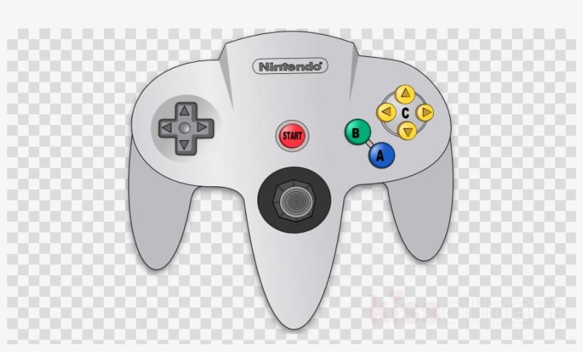 N64 icon clipart vector freeuse download Game Controller Clipart Nintendo 64 Controller Super - Skype ... vector freeuse download