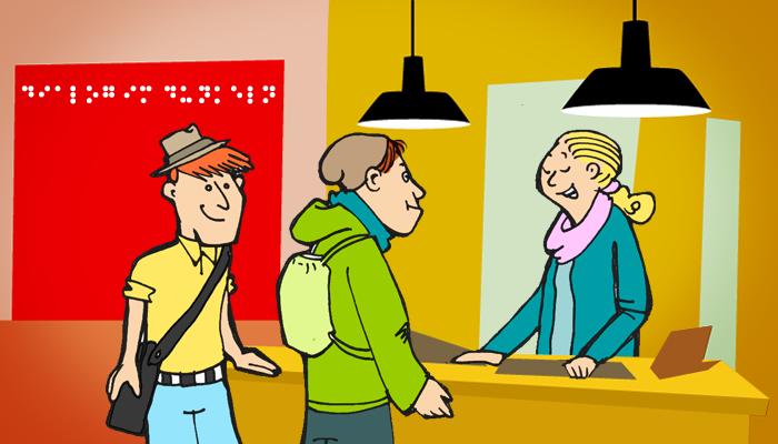 Nach dem weg fragen clipart image free library ▷ Eine Wegbeschreibung verstehen - Englisch Klasse 9 und 10 ... image free library