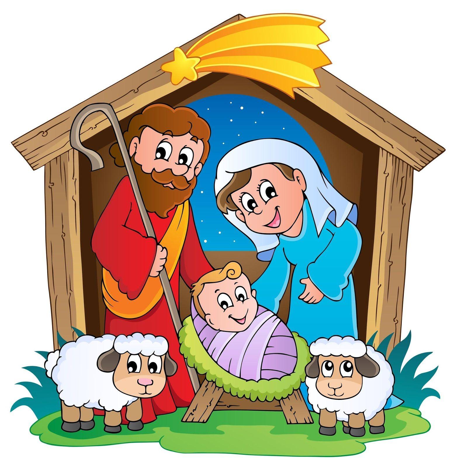 Nacimiento de jesus clipart