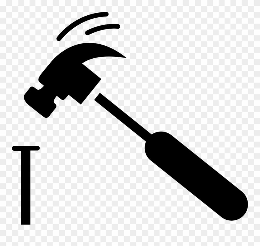 Nail and hammer clipart banner Hammer And Nail Png Clipart (#813177) - PinClipart banner