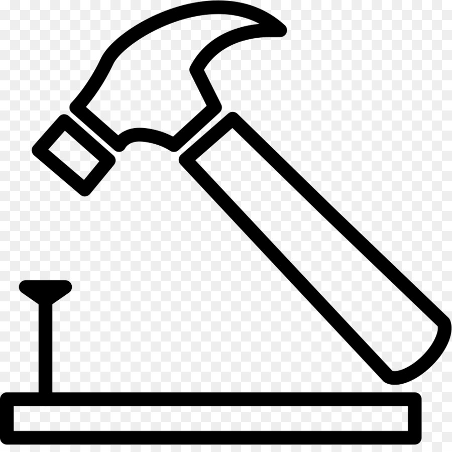 Nail and hammer clipart transparent library Hammer Cartoon png download - 981*966 - Free Transparent Hammer png ... transparent library