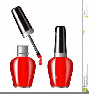 Nail polish clipart free