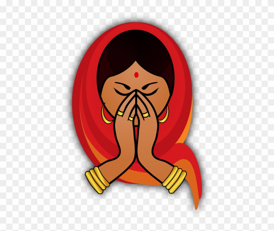 Indian Cuisine Namaste Download Drawing - Welcome Clip Art Png ... vector transparent download