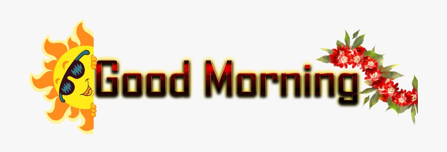 Name clipart effect svg black and white download Good Morning Name Png Ready-made Logo Effect Images - Good Morning ... svg black and white download