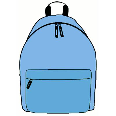 Personalised School Bag for Boy/Girl Kid\'s Name & Design on  Backpack/Rucksack library