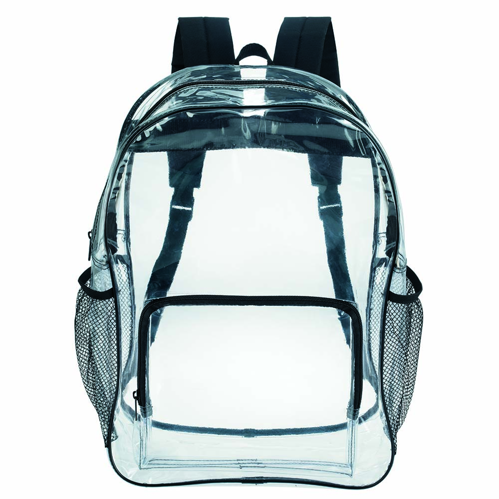 Clear Backpacks | X11677 vector black and white download