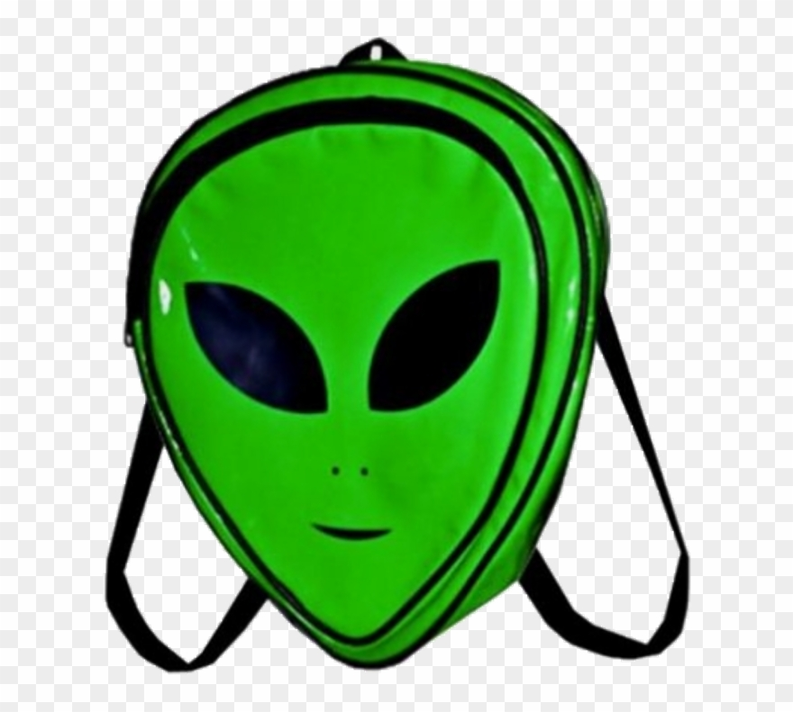 Png Sticker - Alien Backpacks Clipart (#3553624) - PinClipart clipart free