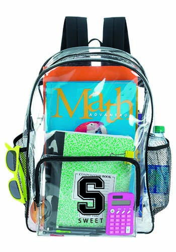 Clear Backpacks | X11677 vector royalty free download