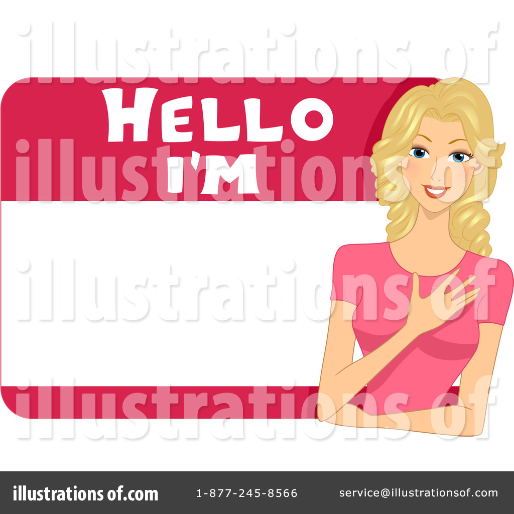 Name tag images clipart vector free library Name Tag Clipart #1094778 - Illustration by BNP Design Studio vector free library