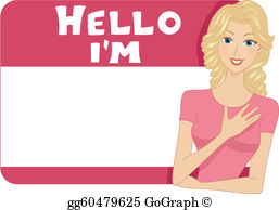 Name tag images clipart png freeuse stock Name Tag Clip Art - Royalty Free - GoGraph png freeuse stock