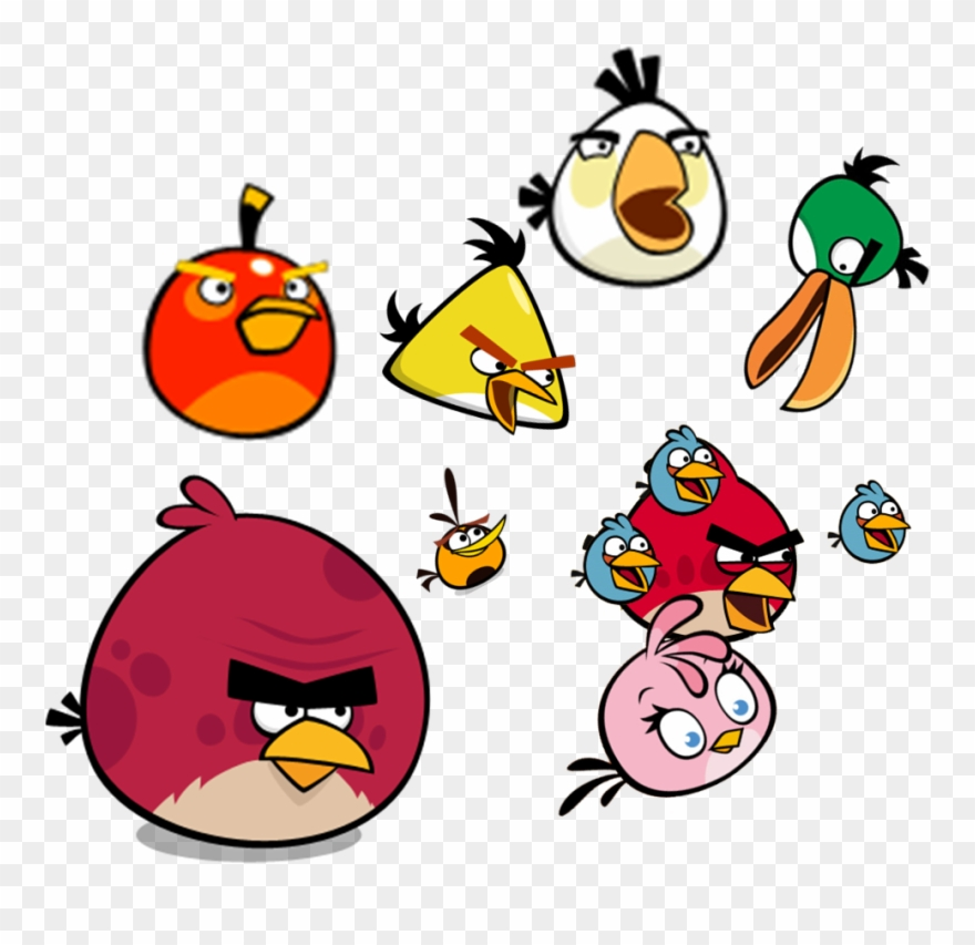 Names clipart picture royalty free stock Angry Birds Comic - Angry Birds Names Clipart (#3282219 ... picture royalty free stock